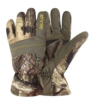 Hot Shot $26 L/XL Youth Defender Gloves Waterproof 40g Winter Kids Realtree NWT