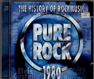 Pure Rock 1980 - The History Of Rockmusic (CD)