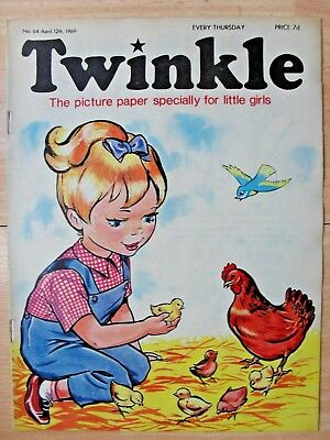TWINKLE COMIC - 12th APRIL 1969 (12th - 18th) - RARE 50th BIRTHDAY GIFT!!