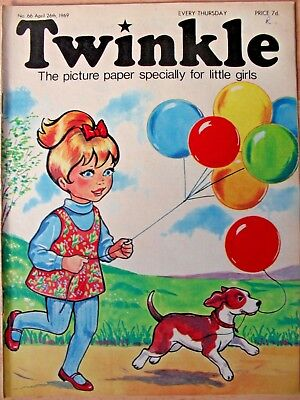 TWINKLE - 26th APRIL 1969 (26th april - 2nd may) - RARE 50th BIRTHDAY GIFT!!