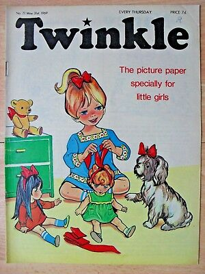TWINKLE COMIC - 31st MAY 1969 (31st may - 6th june) - RARE 50th BIRTHDAY GIFT!!