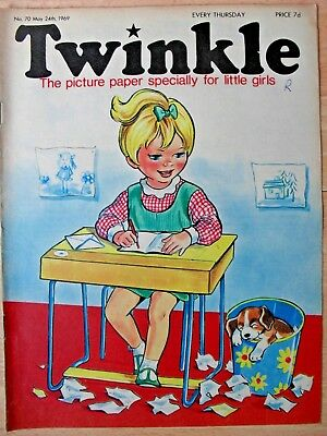 TWINKLE COMIC - 24th MAY 1969 (24th - 30th) - RARE 50th BIRTHDAY GIFT!!