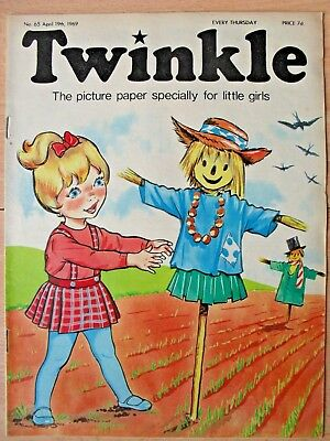TWINKLE COMIC - 19th APRIL 1969 (19th - 25th) - RARE 50th BIRTHDAY GIFT!!