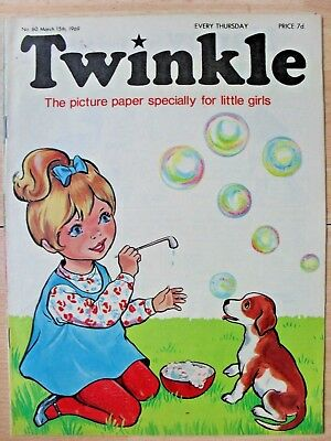 TWINKLE COMIC - 15th MARCH 1969 (15th - 21st) - RARE 50th BIRTHDAY GIFT!!