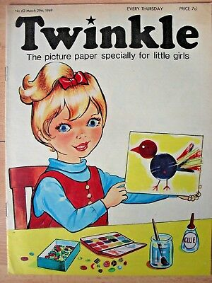 TWINKLE - 29th MARCH 1969 (29th march - 4th april) - RARE 50th BIRTHDAY GIFT!!