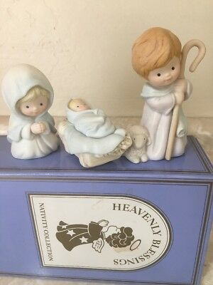AVON Vintage 1986 - NEW Heavenly Blessings Nativity Collection - The Holy Family