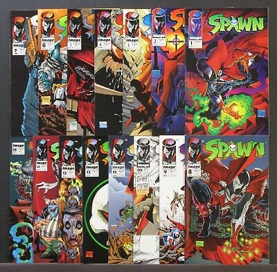 Spawn Comic book lot #1 - 31 complete