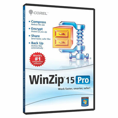 WinZip 15.0 Pro Full Version LifeTime License ⭐Download Link + Key⭐