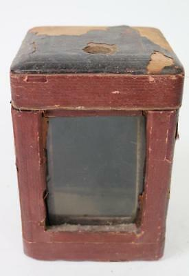 19THC Antique French Repeater Carriage Clock Outer Protection Carry Case LE ROY