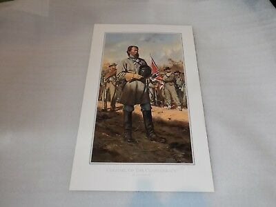 Colonel of the Confederacy  - Civil War Print by Don Troiani   159/1250 Signed