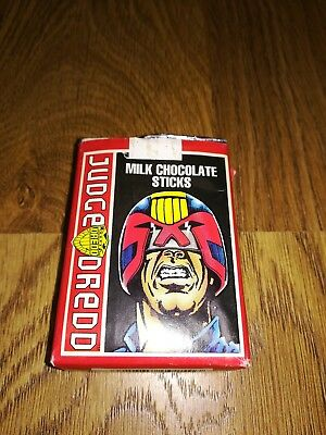 Judge Dredd Chocolate Stick Packet 1995