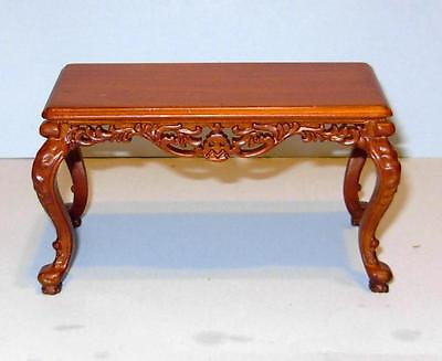 Jbm Miniatures Gothic Period Side Table Carved Dollhouse Furniture  Miniatures