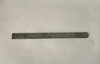 Vintage Chesterman Steel Rule 15cm 6 Inches No. 1561D/3