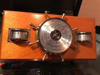 Weathermaseter Barometer Hygrometer And Thermometer Set