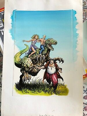 Valiant Color Cover Art Archer & Armstrong 6 Barry Smith Layton