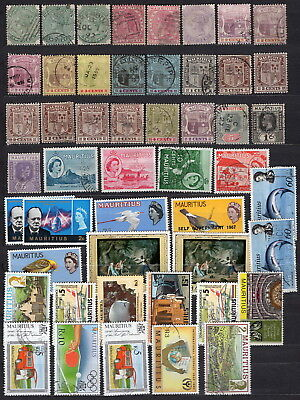 Mauritius, 50x used, Mh or MNH stamp
