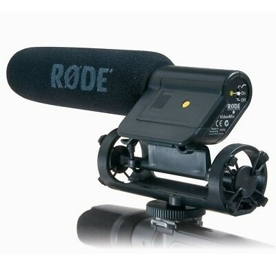 Rode videomic DV directional mic with wind shield and off camera extension cord