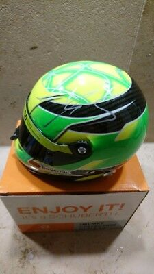 Mick Schumacher signed Helmet scale 1:2
