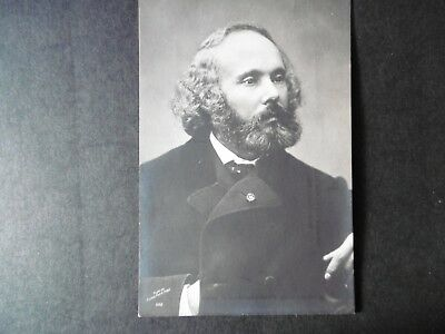 Felicien David - RP - French composer - B&H card.
