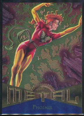 1995 Marvel Metal Trading Card #110 Phoenix