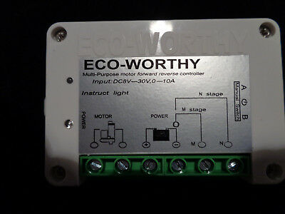 Eco-Worthy Wireless Motor Controller Forward Reverse Remote Control