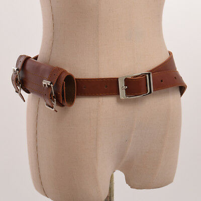 Medieval SCA Two-Buckle Sword Frog Holster With Belt Rapier Scabbard Holder Belt