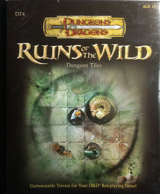"D&D Dungeon Tiles ""Ruins of the Wild"" (wie neu)"