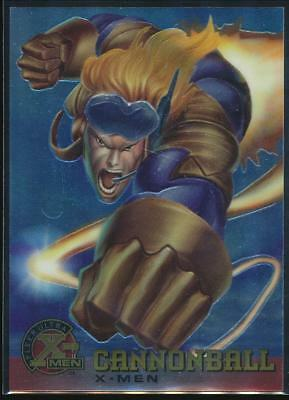 1995 X-Men Ultra All-Chromium Trading Card #4 Cannonball
