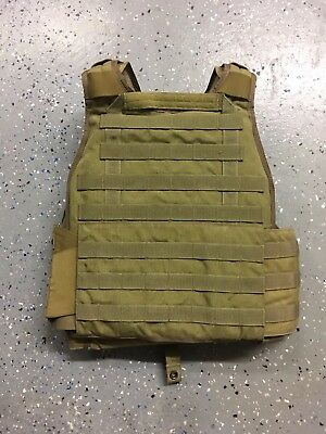 Eagle Industries Plate Carrier w/LVL III Soft Armor, Coyote Tan-L/XL