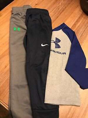 BOYS 3 PIECE LOT NIKE UNDER ARMOUR Nike SIZE 6 CLOTHES