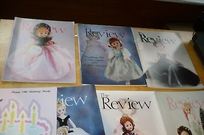 "7 Madame Alexander  Doll Club ""the Review"" Catalog Magazine Brochure 2003 04 05"