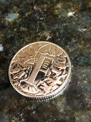 "F for Fish & Chips ""F"" 10p Ten Pence coin 2018 **FREE SHIPPING**"