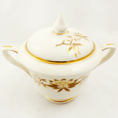 "REVERIE by Royal Worcester Covered Sugar Bowl 4.5"" tall NEW NEVER USED England"