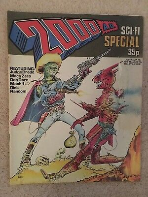 2000Ad Sci-Fi Special 1978