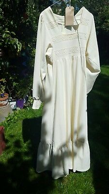 Vintage / retro  hippy bohemian  steampunk wedding dress size 10