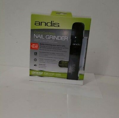 Brand New Andis Cord/Cordless Nail Grinder CNG-1 Lightweight Whisper Quiet