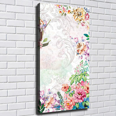 Bright Flowers HD Canvas prints Painting Home decor Picture Room Wall art Poster