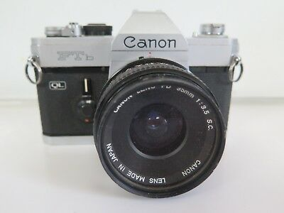 CANON FTb VINTAGE 35MM CAMERA