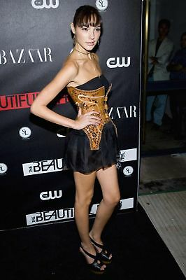 GLOSSY PHOTO PICTURE 8x10 Gal Gadot with Sexy Mini Costume
