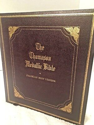 Thomason Medallic Bible ~ Franklin Mint ~ 60 Medals ~Complete Bible