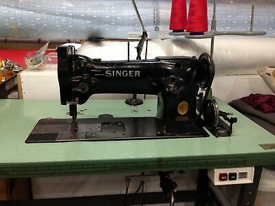 SINGER 112W140 Double Needle Industrial Sewing Machine