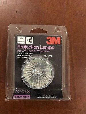 3m HA6000 Replacement Projection Lamp For Overhead Projectors