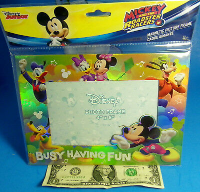 Disney Junior Mickey Mouse Magnetic Table Top Picture Frame