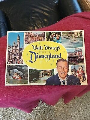 Disneyland 1960 Guide 8 X 11 26 Pages
