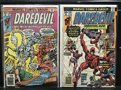 Lot of 2 Daredevil #138 139 (1964 Marvel) Combined Shipping Deal!