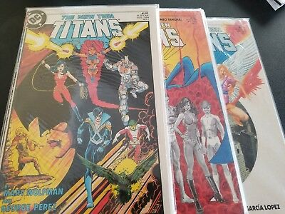 The New Teen Titans (1984 Series) 1 2 3 4 5 6 7 8 9  VG+