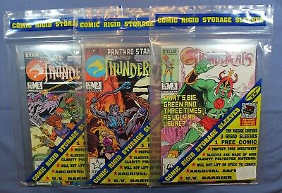 Thundercats # 2, 3 & 6 Marvel ComicsSealed Ultra Pro Comic Storage