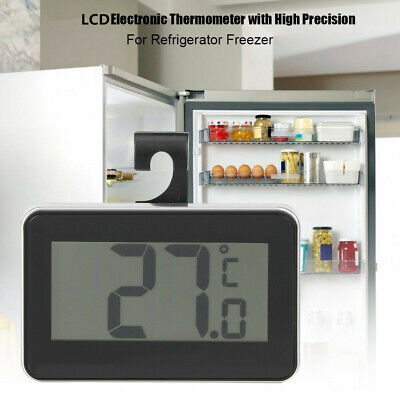 LCD Electronic Waterproof Meter Digital Thermometer Hygrometer For Home Freezer