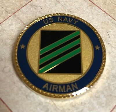 United States Navy Airman Challenge Coin