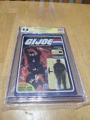 G.I. Joe Comic Signed By Elias Chatzoudis & Robert Atkins CGC Graded 9.8 #215